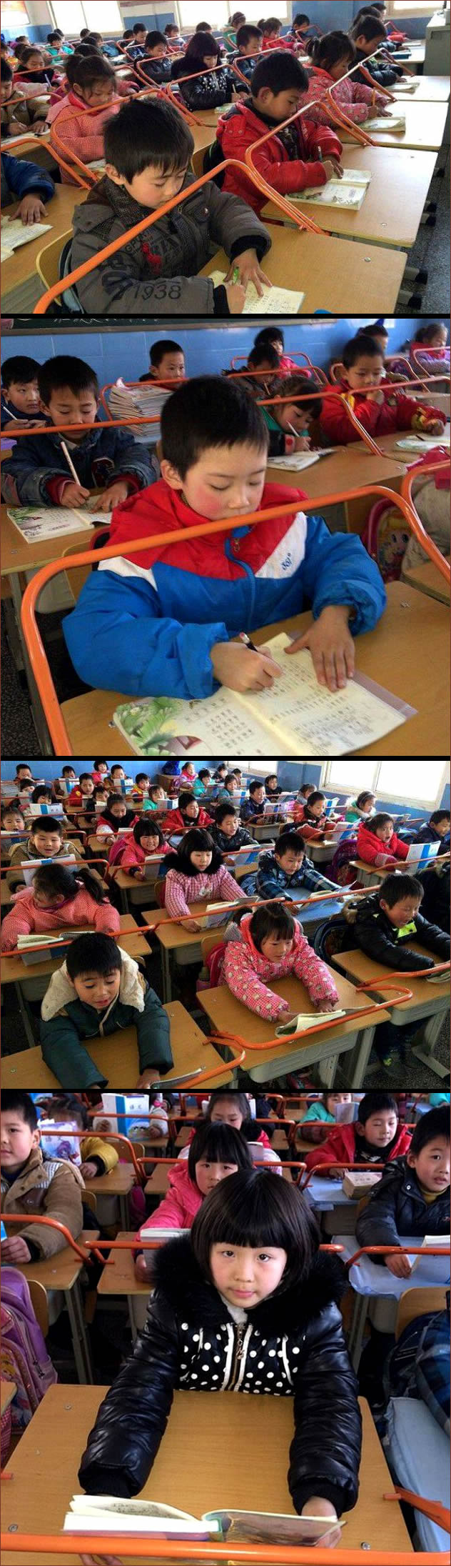 chinos-estudiando