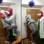 Bender y Zoidberg