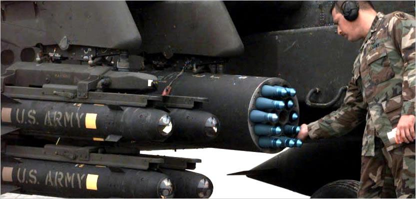 Armamento de un Apache
