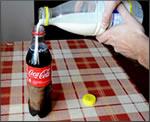 Coca-Cola con leche