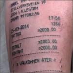 Tattoo del recibo