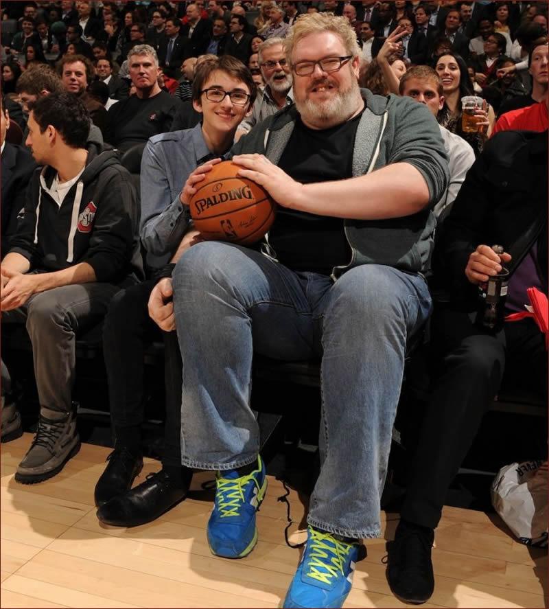 Hodor en el basket