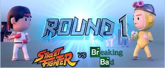 Street Fighter vs Breaking Bad