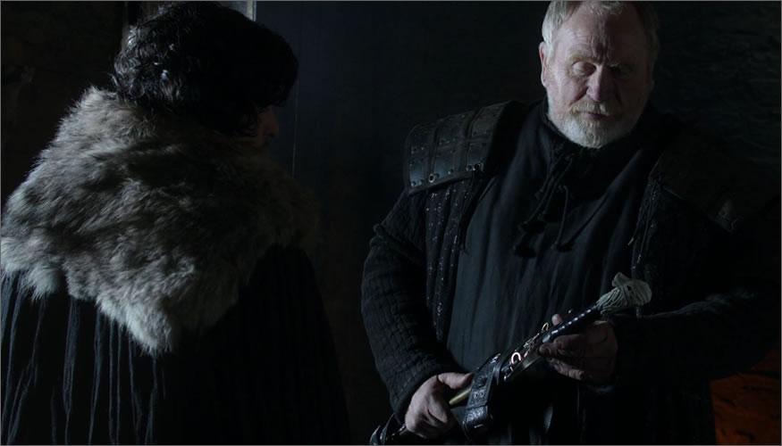 espada jon nieve