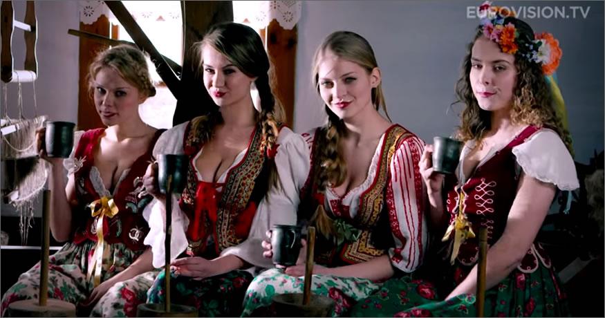 las polacas de eurovisión