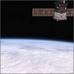 Desde la estación espacial internacional