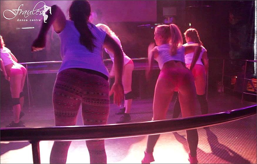 coreografía de twerking