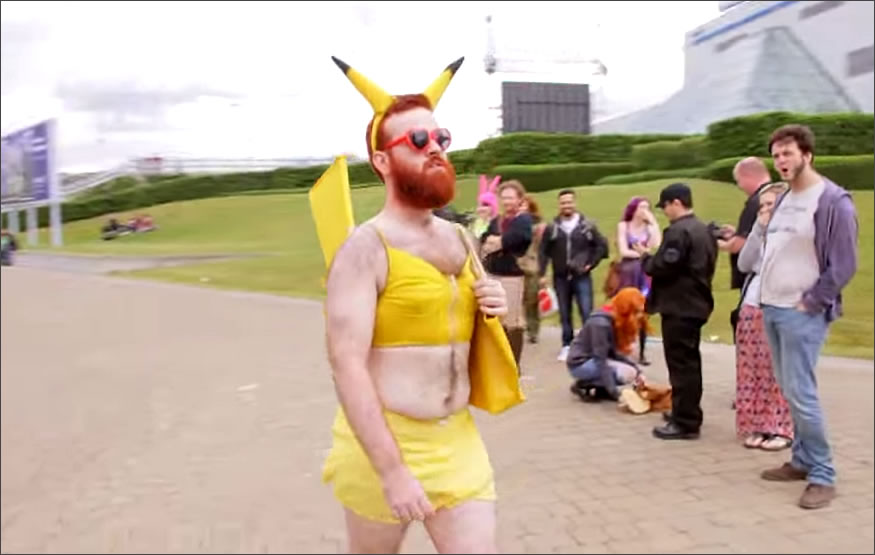 cosplay-london-pikachu