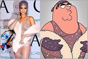 Rihanna se rinde ante Peter Griffin
