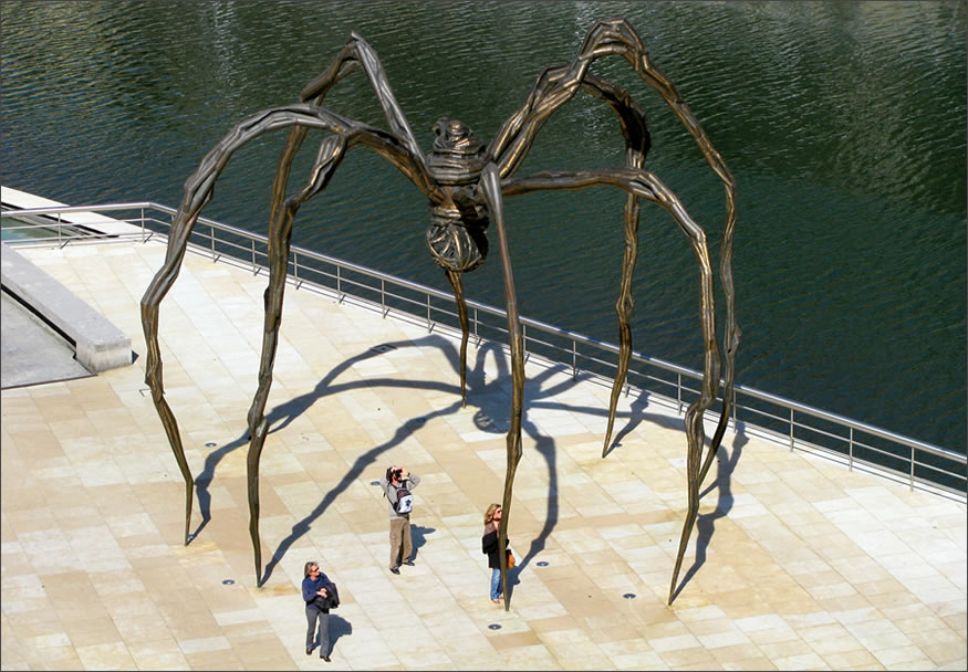 arana-escultura