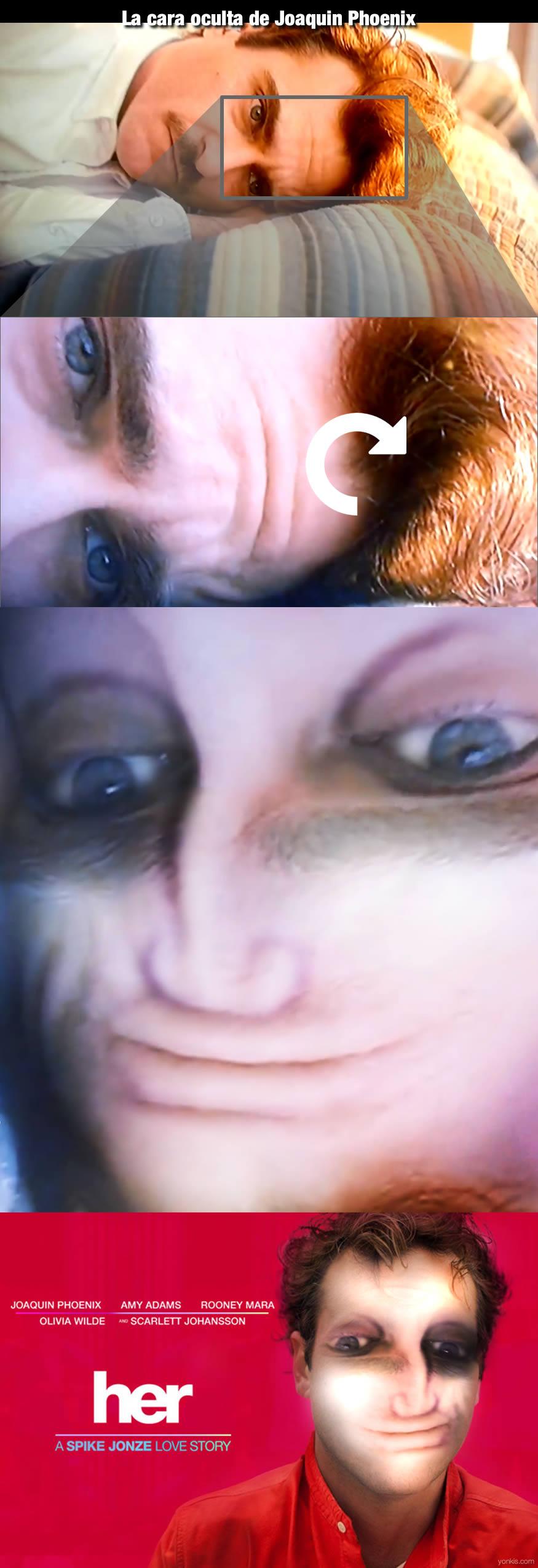 La cara oculta de Joaquin Phoenix