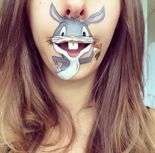 Maquillaje especial de boca