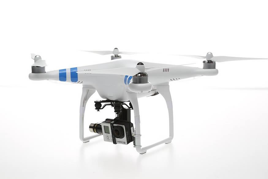 El estado de las baterías del dron