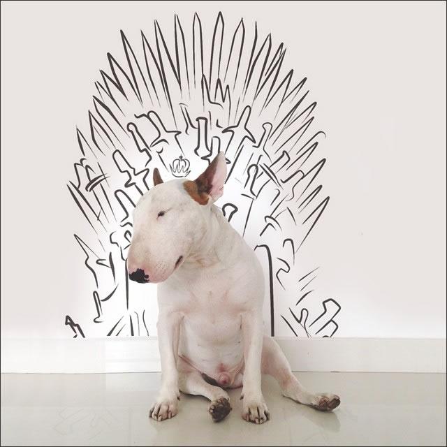 perro-tronos