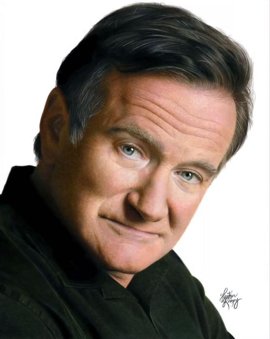 Retrato Robin Williams