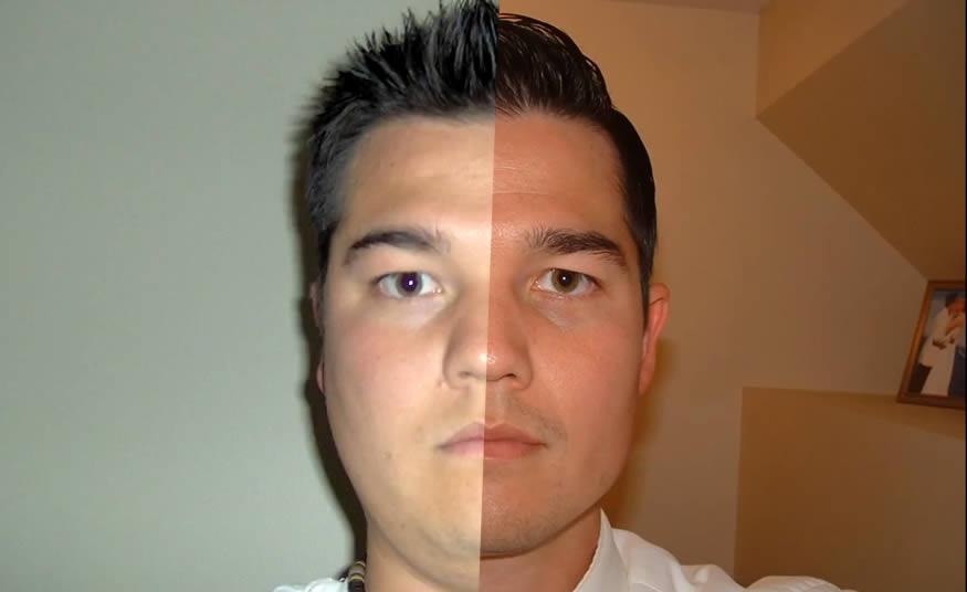Un selfie al día durante 8 años