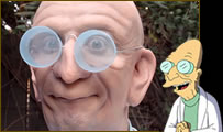 Profesor Farnsworth de Futurama