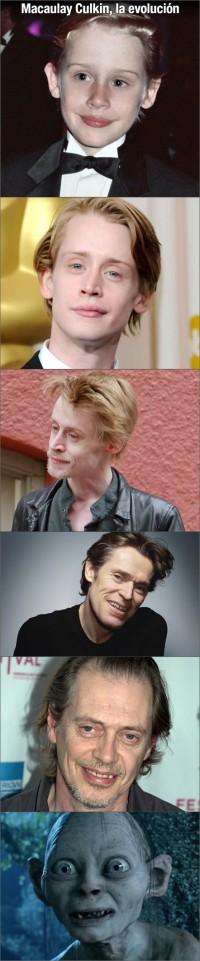 Macaulay Culkin la evolución
