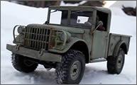 Construyendo un Dodge M37 a escala