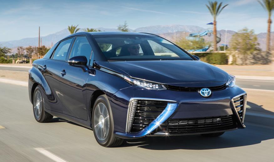 MIRAI el coche de hidrógeno de Toyota