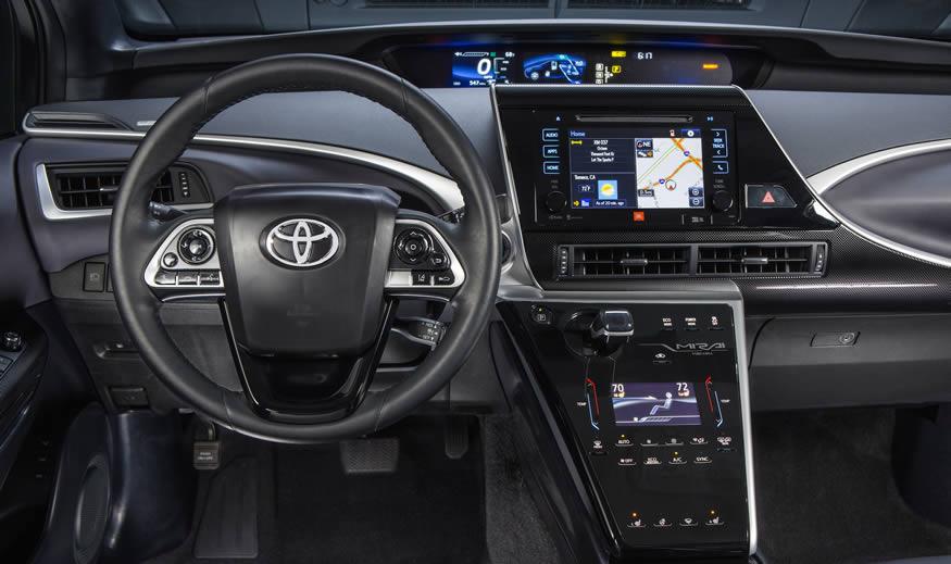 El coche de hidrógeno, Toyota MIRAI