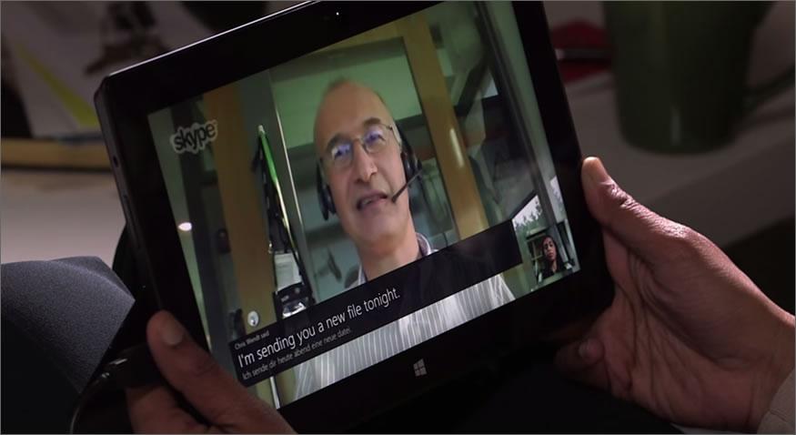 Traducción simultánea en Skype