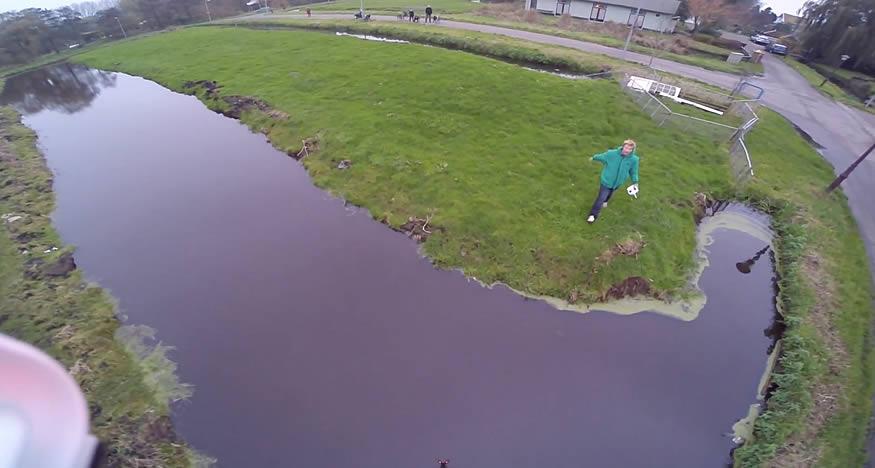 Primer día con el dron