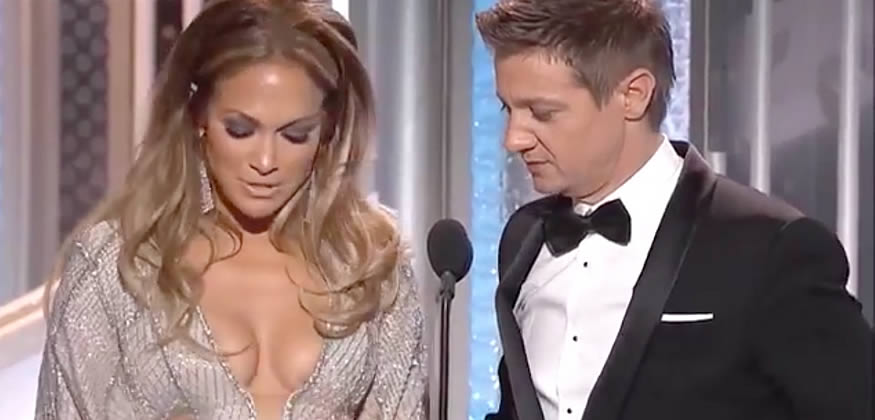 Los globos de oro de Jennifer Lopez