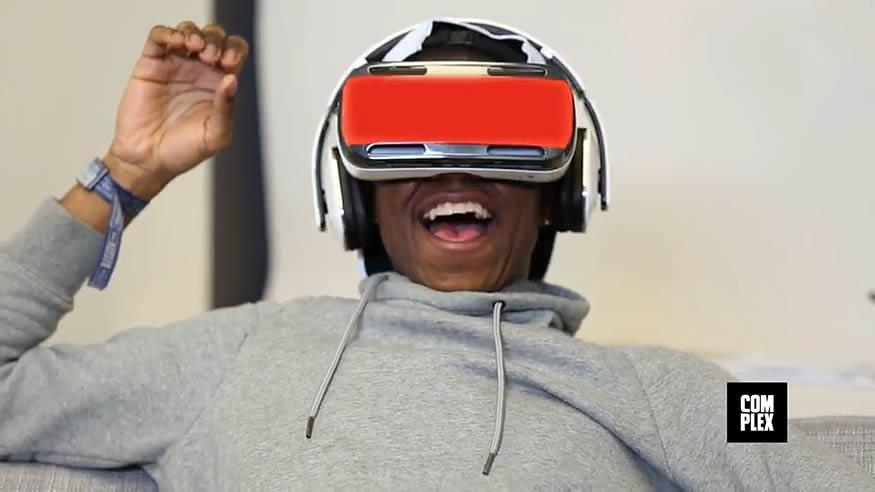 Viendo porno en oculus rift por primera vez