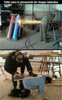 Taller para la prevención de riesgos laborales