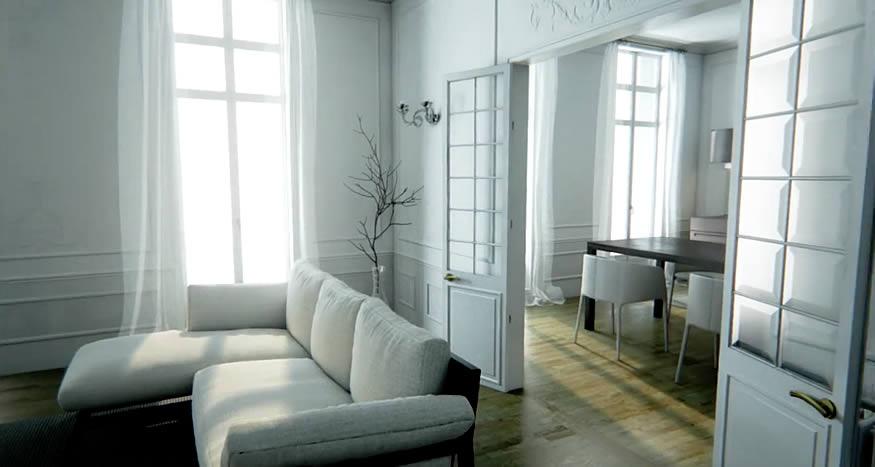 Una casa hecha con Unreal Engine 4