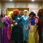 Reunión de princesas Disney