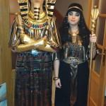 Cleopatra y Tutankamon