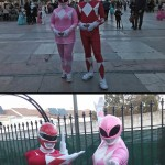 Red y Pink Ranger