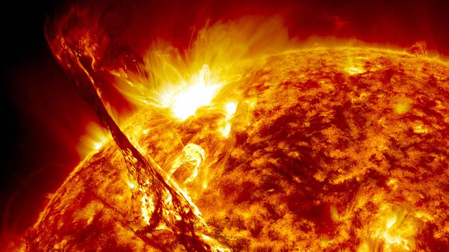 Cinco años estudiando el Sol