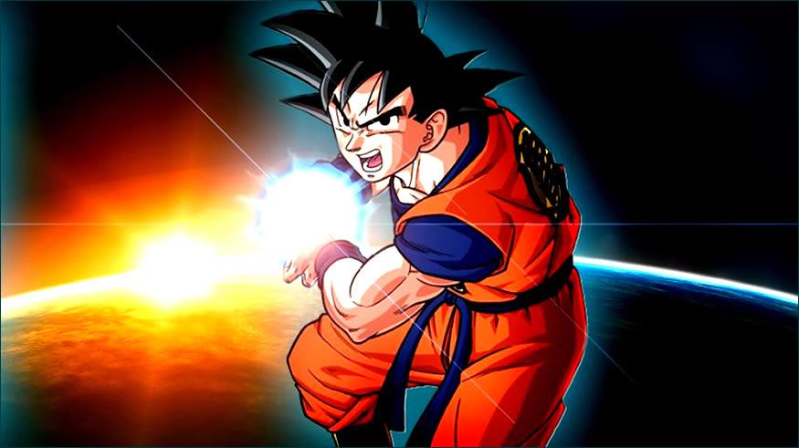 Holografía de Goku