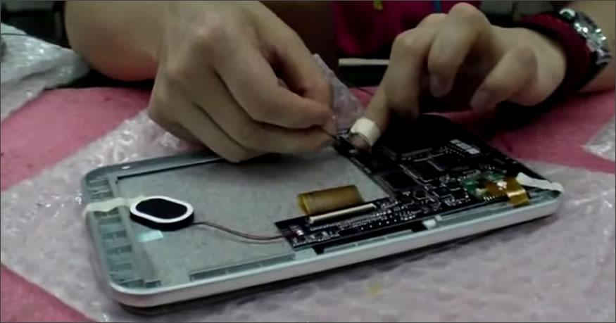 tablet de los chinos