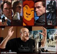 Las voces de Constantino Romero