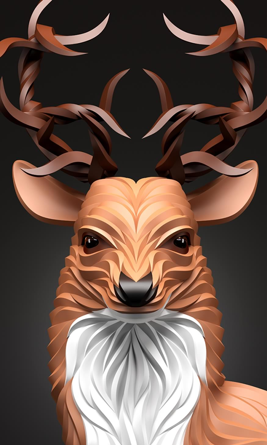 ilustra-ciervo-cuernos