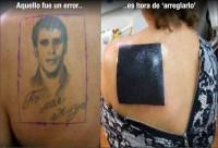 Arreglando un tattoo del pasado