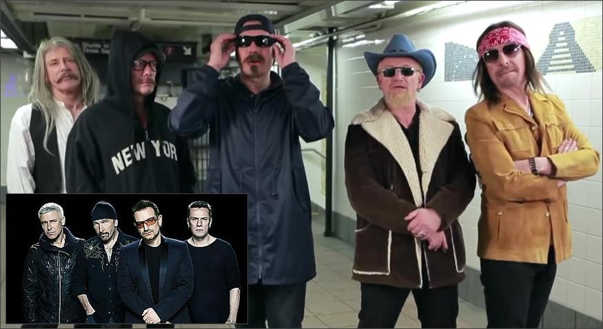 Concierto de U2 de incógnito