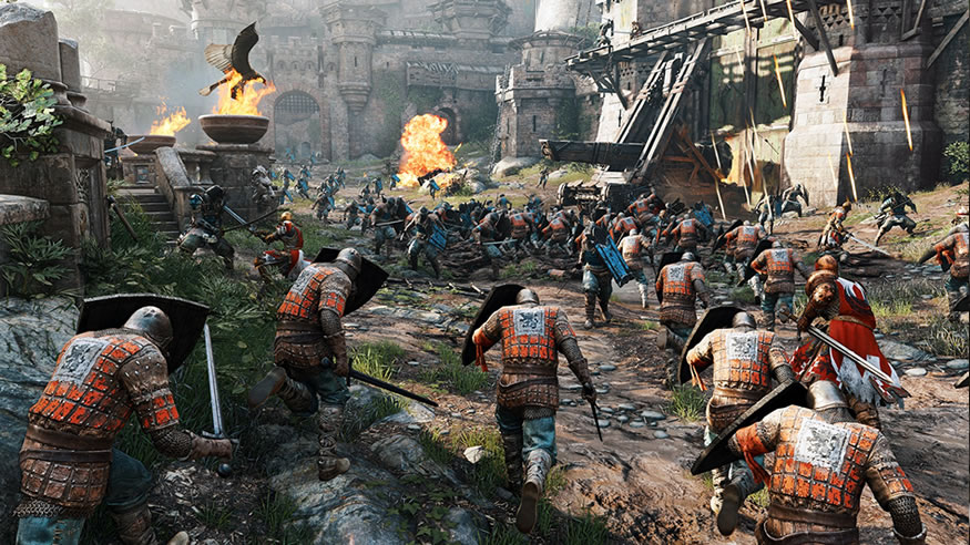 For Honor gameplay E3 2015