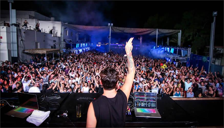 Opening party de Space Ibiza por Luciano