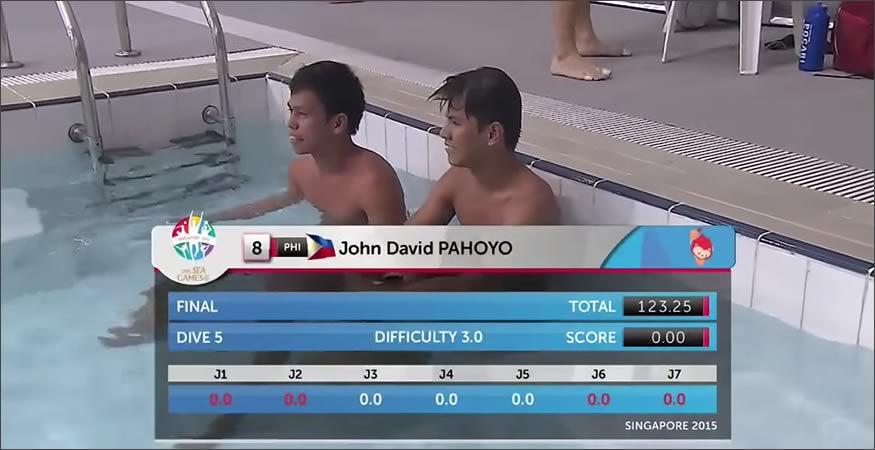 Saltadores filipinos