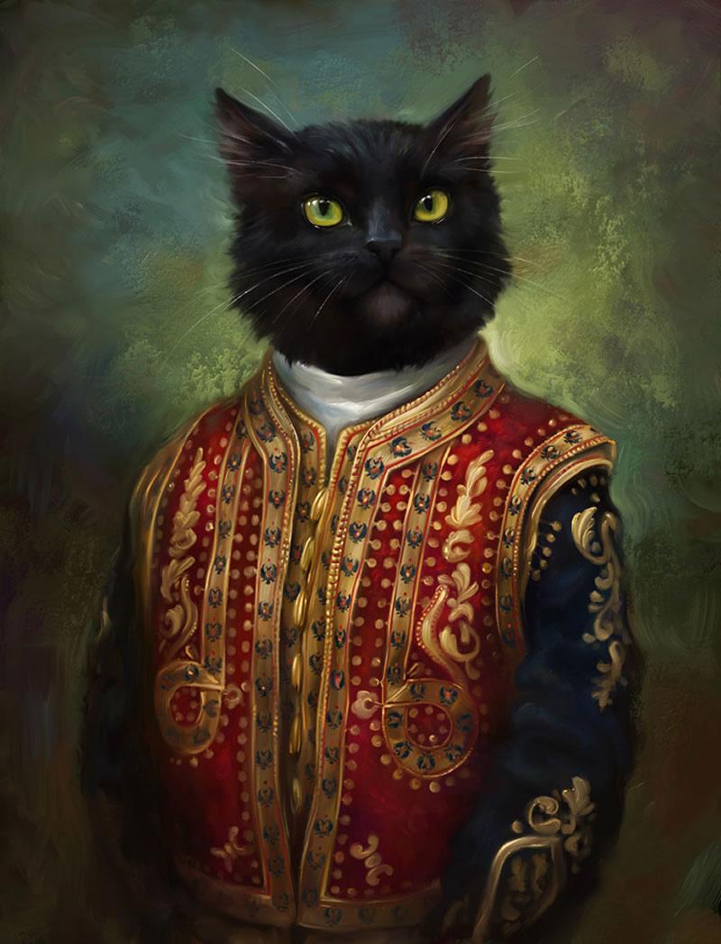 gato-traje