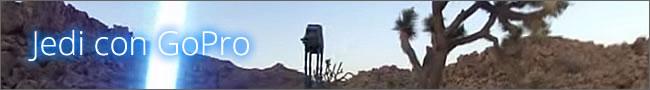 Un Jedi con Gopro