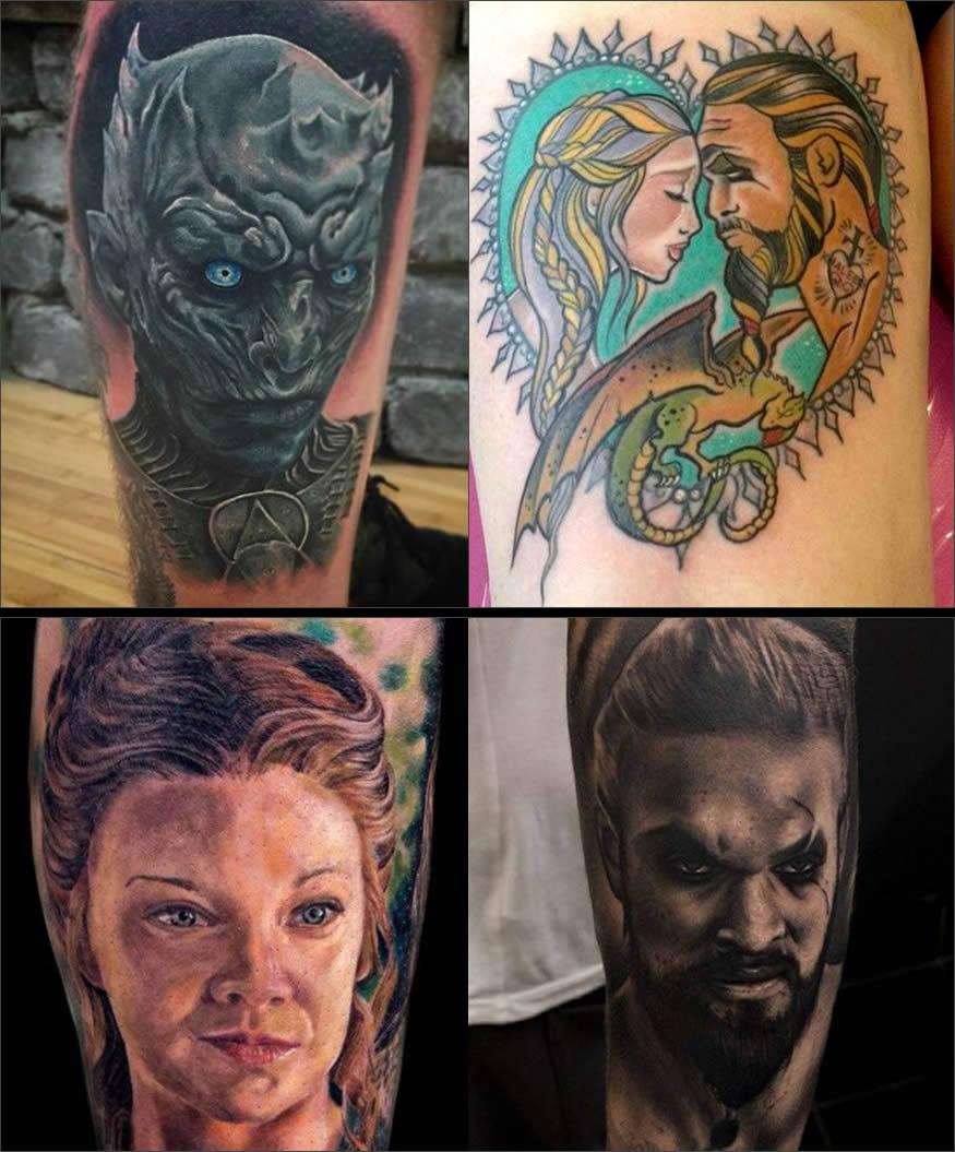 Tattoos de Juego de Tronos
