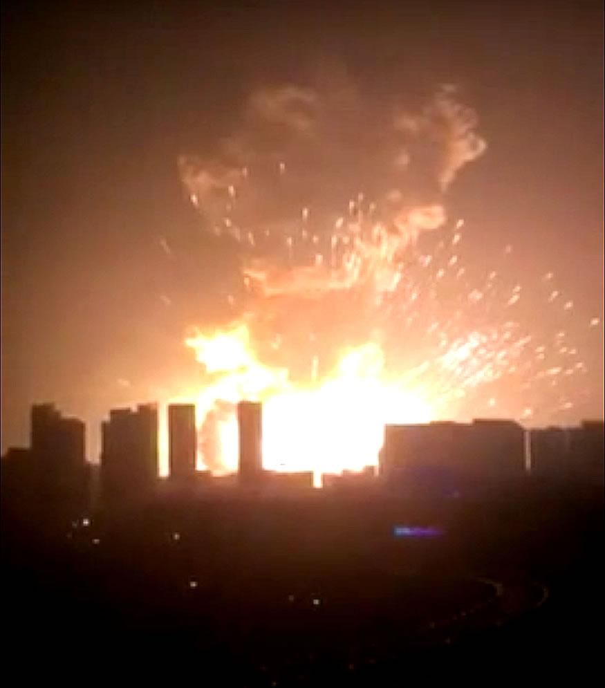 Explosión en la ciudad de Tianjin