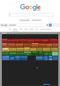 Huevo de pascua en Google
