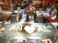 Declaración de amor fail en el Teppanyaki